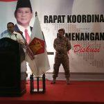 Rakor Pemenangan Partai Gerindra, Sudirman Said: Saya Siap Jadi Gubernurnya Rakyat Miskin