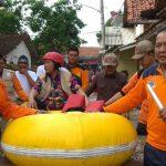 Pemkot  Tegal Jamin Logistik Untuk Pengungsi Banjir Cukup