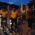 Menuju Bali, Rombongan Kirab Sepeda Ontel Singgah di Kota Tegal
