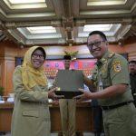Umi Azizah Resmi Laksanakan Tugas dan Wewenang Bupati Tegal