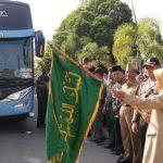 457 Jamaah Haji Kabupaten Tegal Diberangkatkan