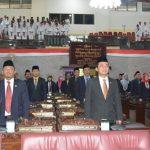 Fraksi DPRD Kabupaten Tegal Setujui Pertangung Jawaban  Bupati Tegal APBD Tahun 2017