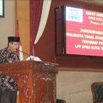 Plt. Wali Kota Tegal Sampaikan Jawaban Pemandangan Umum Fraksi DPRD