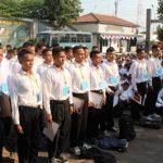 577 Pemuda Ikuti Tahapan Seleksi CABA, CATA TNI-AL Tahun 2018, di Mako Lanal Tegal
