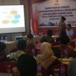 Bawaslu Kabupaten Tegal Gelar Rapat Kerja Teknis Pengawasan Pileg dan Pilpres 2019