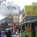Penyebab Kebakaran Di Lantai Dua Rita Mall Diduga Karena Hal ini
