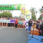 Ratusan Pelari Dari Berbagai Kota Ramaikan Lomba Lari Tegal Bahari 10 K