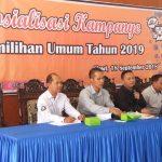 KPU Kabupaten Tegal Sosialisasi Aturan Pemilu 2019