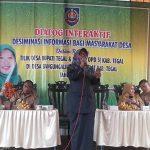 Tilik Desa, Umi Azizah Ajak SKPD Bisa Melayani Masyarakat