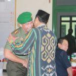 Letkol. Inf. Richard Arnold Yeskiel S Jabat Dandim 0712