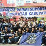 Deklarasi Damai Suporter Sepak Bola Indonesia di Tegal