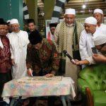 Wali Kota Tegal dan Habib Tohir Resmikan Masjid Al Azhar