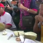 Mampir ke Festival Durian di Tegal, Modal Rp 100 Ribu Bisa Makan Durian Sepuasnya