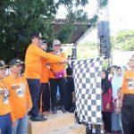 Pemilu Run KPUD Kota Tegal, Wakil Walikota Tegal Ajak Masyarakat Jadi Pemilih Cerdas