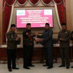 DPRD Kota Tegal Berikan Rekomendasi LKPj Tahun 2018