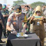 Operasi Ketupat Candi,Polres Tegal Musnahkan 10 Ribu Miras