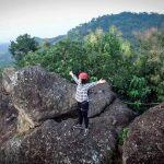 Foto Wisata Panjat Tebing Via Ferrata Bukit Rangkok