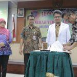 GMT Resmi Jabat Direktur BLUD Dr.Soeselo Slawi