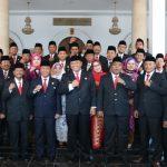 30 Anggota DPRD Kota Tegal Masa Bakti 2019-2024 Resmi Dilantik