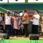 "Berkat Doa Di Pinggir Pantai Muarareja Indah, Melli Dapat Door Prize Sepeda Motor  ""Tegal Bahari 2019"""