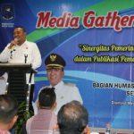 Pemkot Tegal Adakan Media Gathering dengan Wartawan