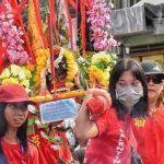 Kirab Budaya Toa Pek Kong di Slawi Berlansung Meriah