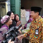 Antisipasi Harga Beras Naik, Sekda Propinsi dan Plt Walikota Tegal Blusukan Pasar