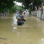 Penampakan Banjir Yang Rendam Desa dan Kota di Tegal