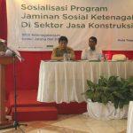 BPJS Ketenagakerjaan Tegal, Menggelar Sosialisasi Jasa Kontruksi