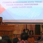 Musrenbang RKPD Kota Tegal 2019 Fokuskan 7 Prioritas Pembangunan
