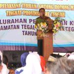 Pjs. Walikota Tegal Optimis Peskid Juarai Lomba Kelurahan Pelaksana Gotong Royong Tk. Jateng
