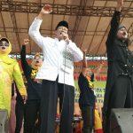 Kampanye Terbuka Paslon  Wali kota Tegal Nursoleh – Wartono Diikuti Ribuan Massa