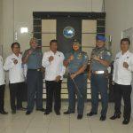 Komandan Pangkalan TNI-AL Tegal dan BNN , Komitmen Berantas Narkoba di Wilayah Kota Tegal