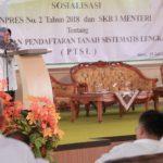 Antisipasi Pungli, Pemkab Tegal Gelar Sosialisasi PTSL