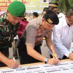 Polres Tegal Deklarasikan Damai Pileg dan Pilpres 2019