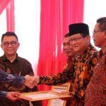 """Kota Tegal Raih """"Anugerah Aksara"""" dari Kemendikbud"""