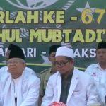 Ma'ruf Amin Hadiri Haul ke-65 Almarhum Almaghfurlah KH Muhsin dan Temui Ulama Nahdlatul Ulama Tegal