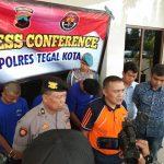 Tiga Pelaku Jambret Ditangkap Polres Tegal Kota