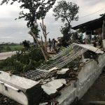 Belasan Rumah dan Satu Sekolah Dasar di Tegal Rusak Disapu Puting Beliung