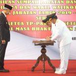 Dedy Yon dan Jumadi Resmi jadi Wali Kota dan Wakil Wali Kota Tegal