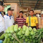 Masuki Hari Puasa, Walikota dan Wakil Walikota Tegal Sidak Harga Sembako Di Pasar