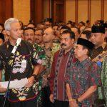 Gubernur  Jateng dan Walikota Tegal  Nyatakan Sikap Perdamaian Pasca Pemilu 2019