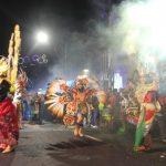 Kota Tegal Tampilkan Batik Pesisir Pawai di Budaya Apeksi 2019