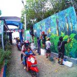 Revitalisasi Pantai Muarareja Indah, Pacific Paint Kucurkan 1600 Liter Cat